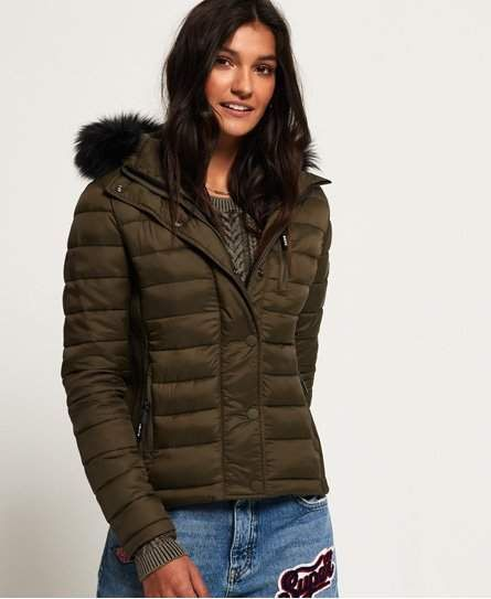 the best attitude 77994 75a12 Superdry Fuji Slim Double Zip Hooded Jacket in 2019 ...