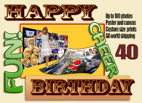 40 Year Old Personalized 40th Birthday Gifts For Brother Personal Photo Gift Ideas Turning This DIY Presents