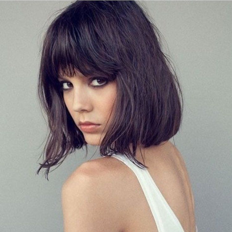 short hair styles for bangs hair shaggy lob papillonhair haircrush 8022