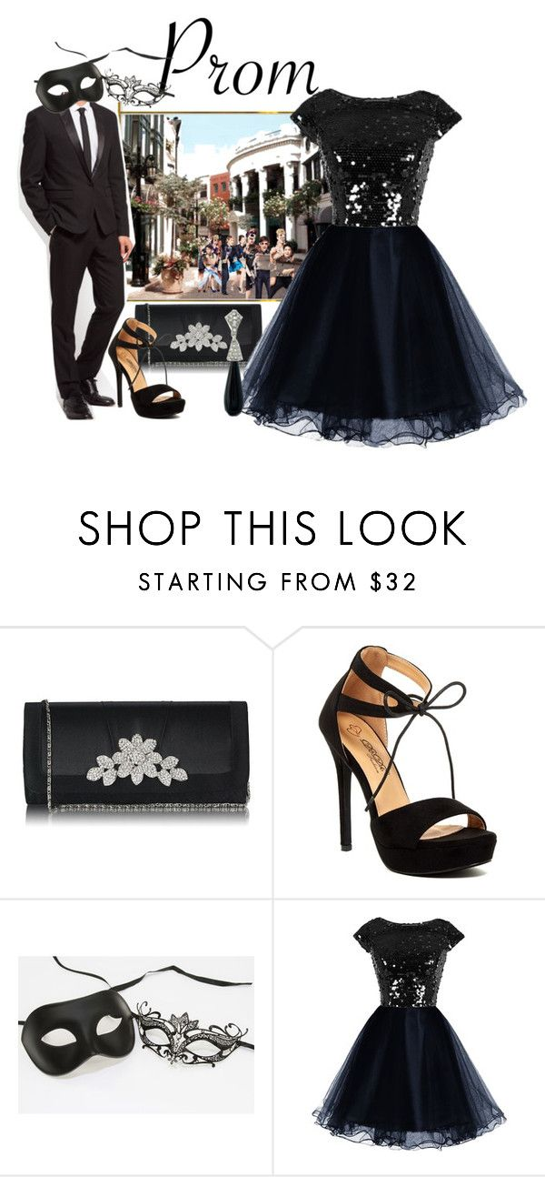 """""""Prom!"""" by easy-dressing ❤ liked on Polyvore featuring Kenneth Jay Lane, Prom, WhatToWear, polyvoreeditorial and groupcontest"""