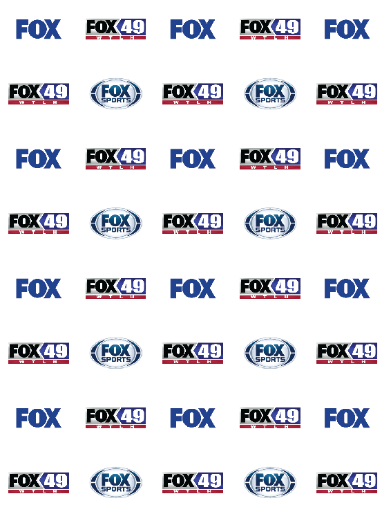 Fox49 WTLH Step and Repeat Backdrop #8532 | www.sign11.com