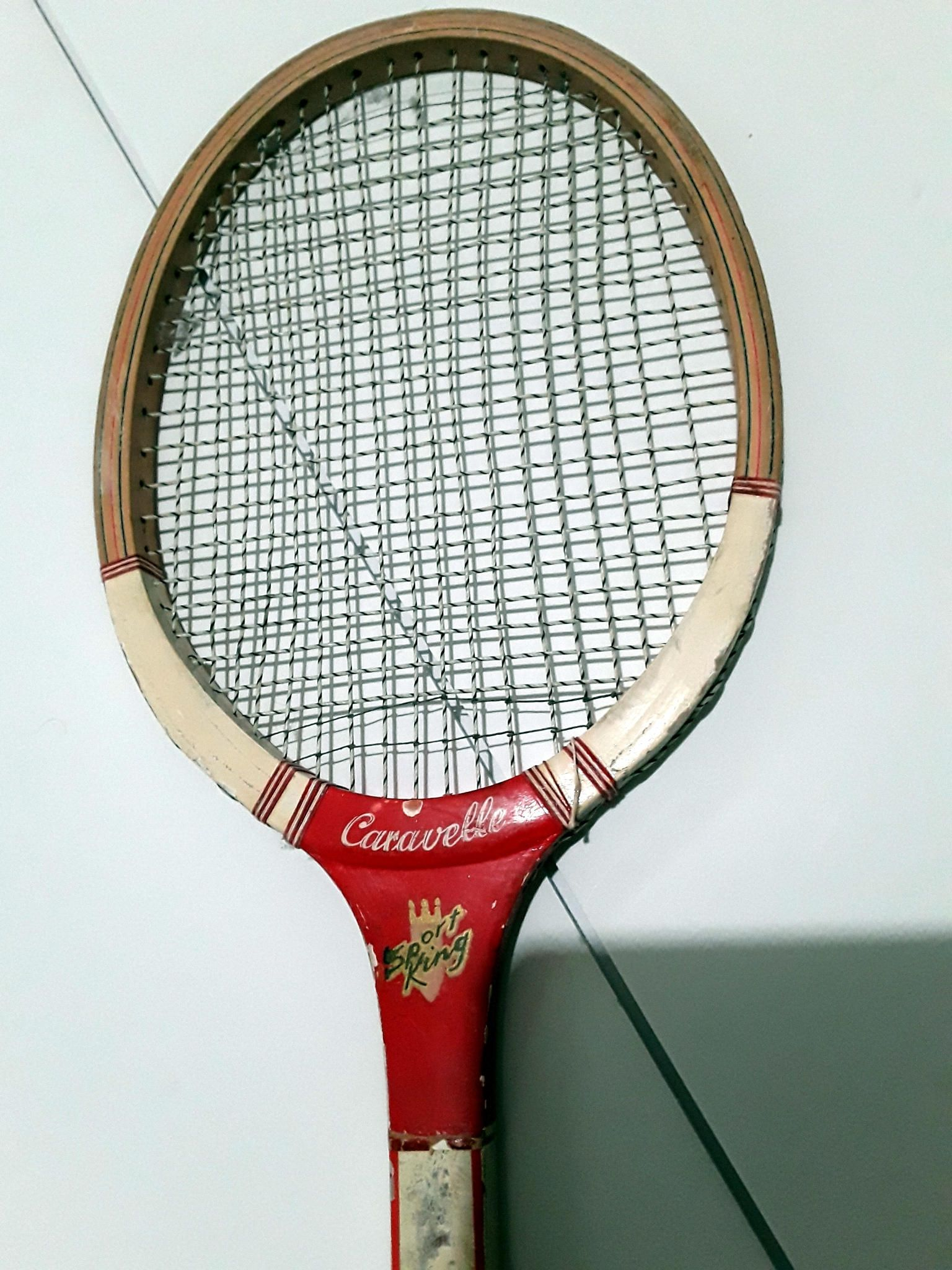 Vintage Rsl Caravelle Wood Tennis Racquet 60s 70s Made In Pakistan Sport King By Fchoicevintage On Etsy