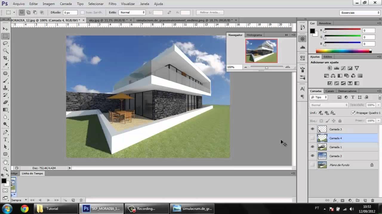 Tutorial melhorando render utilizando photoshop cs6 revit tutorial melhorando render utilizando photoshop cs6 baditri Images