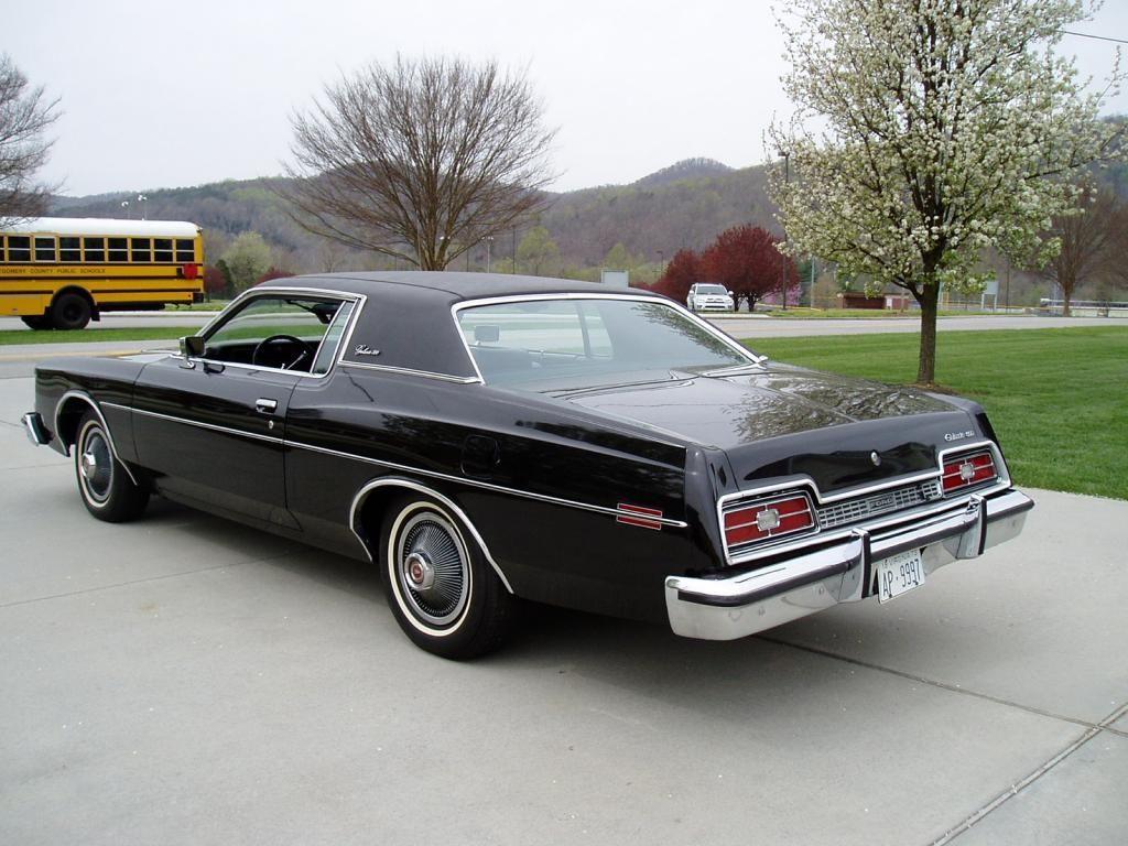 1973 Ford Galaxie 500, black on black. 23,000 miles.  