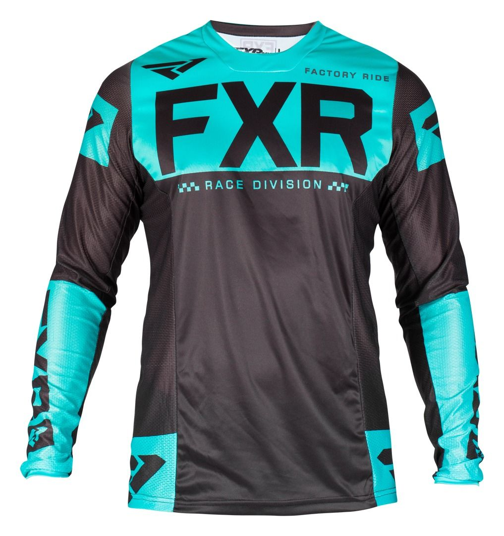 Download Helium Mx Fxr Jersey 19 Black Mint Xl Biking Outfit Long Sleeve Tshirt Men Jersey