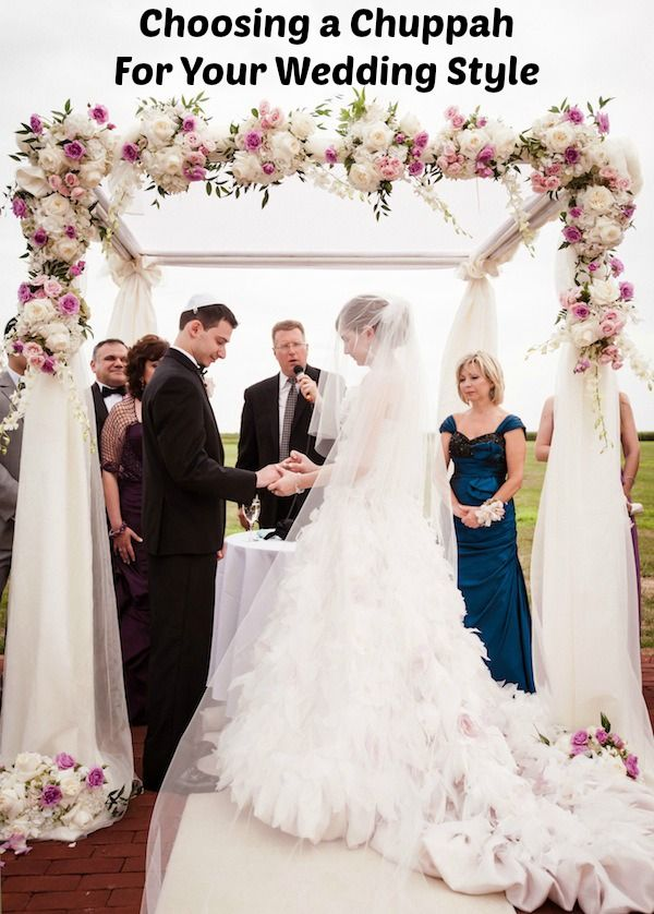 A Chuppah Huppah To Fit Your Wedding Style