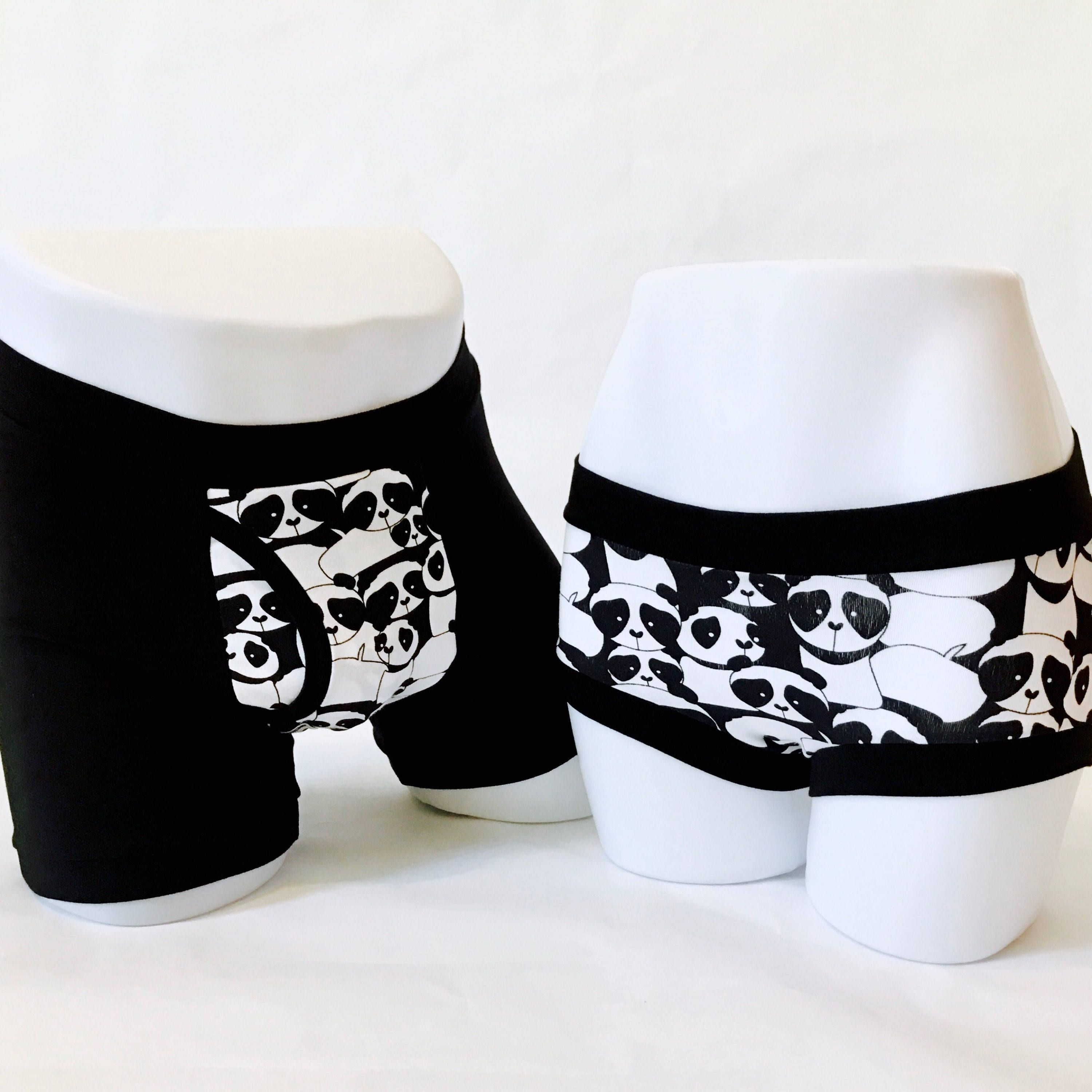 aae64e0e8d6f Valentine's Day gift, Couples underwear, his and hers gift, geek underwear,  matching
