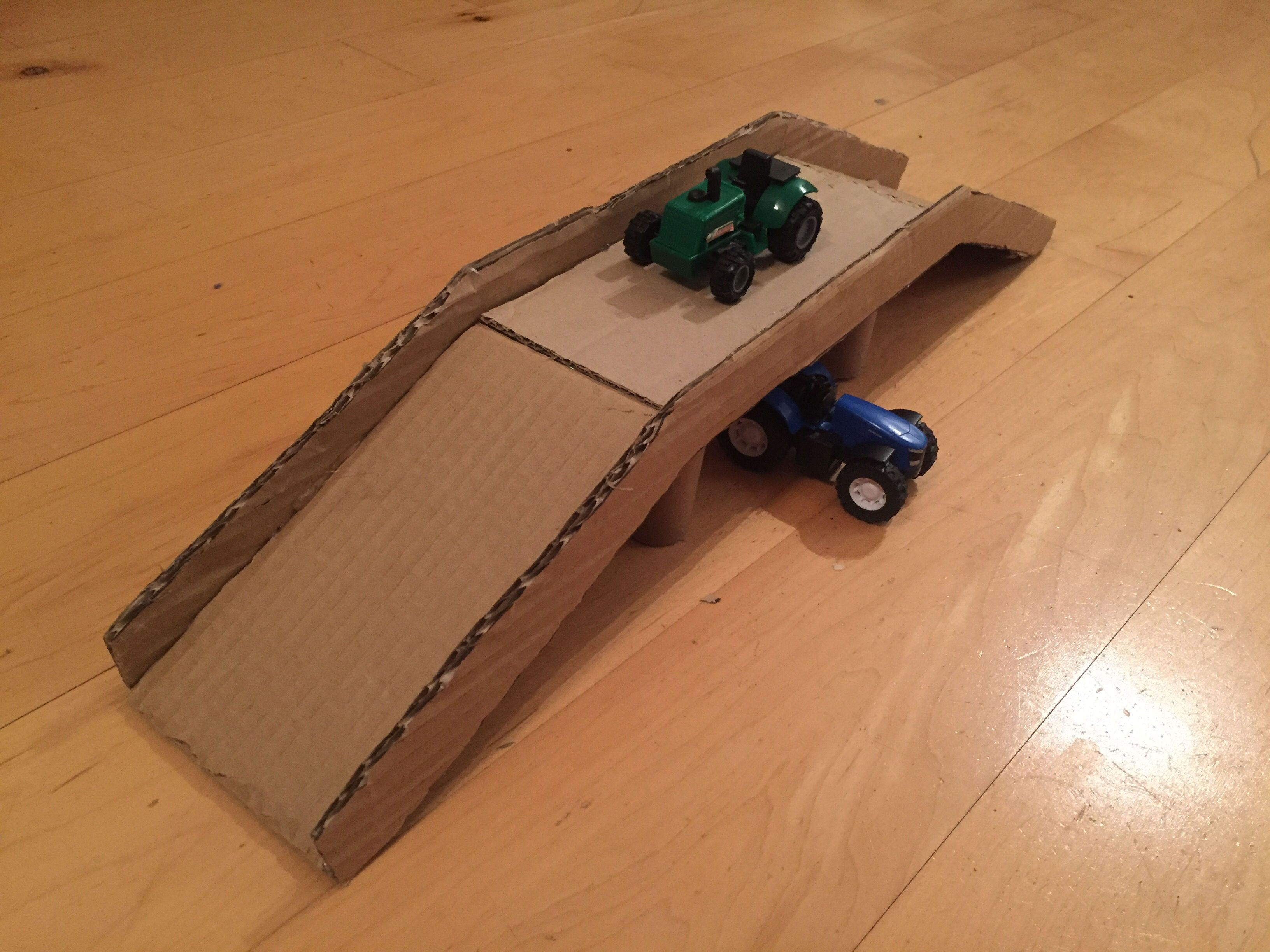 hot wheel cardboard bridge | parenting | cardboard toys, diy