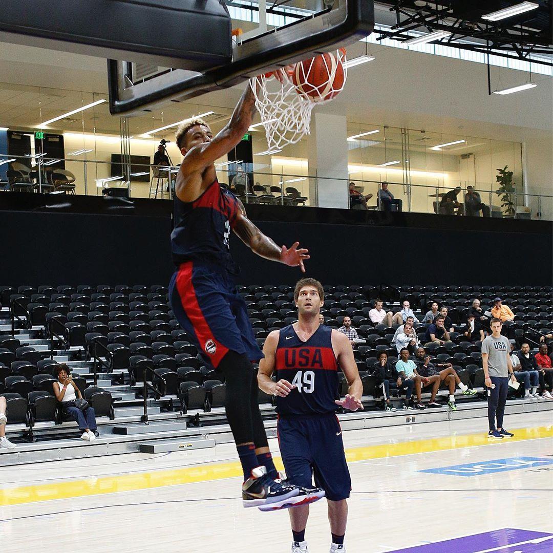 NBA The USABMNT resumes FIBAWC prep in Los Angeles