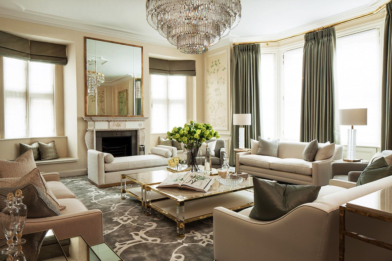 Luxury Living Rooms Pics Contemporary Sectional Room Furniture 10 Decoration By Katharine Pooley My House See More Http Diningandlivingroom