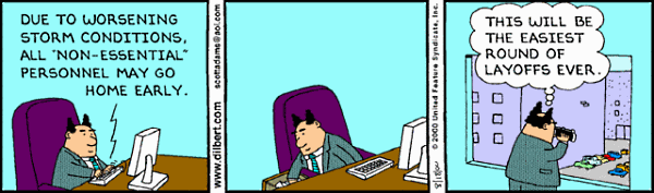 15 Funniest Cartoons and Web Comics About Layoffs | Funny cartoons, Fun at  work, Layoff