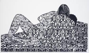 "Saatchi Art Artist Katie Commodore; New Media, ""Marc and Lisa, no. 6"" #art"