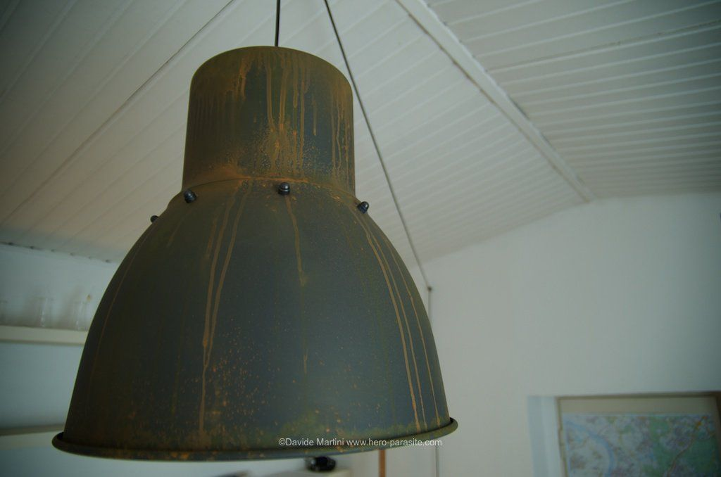 Hektar Pendant Lamp Ikeahack Customized And Hand Painted With