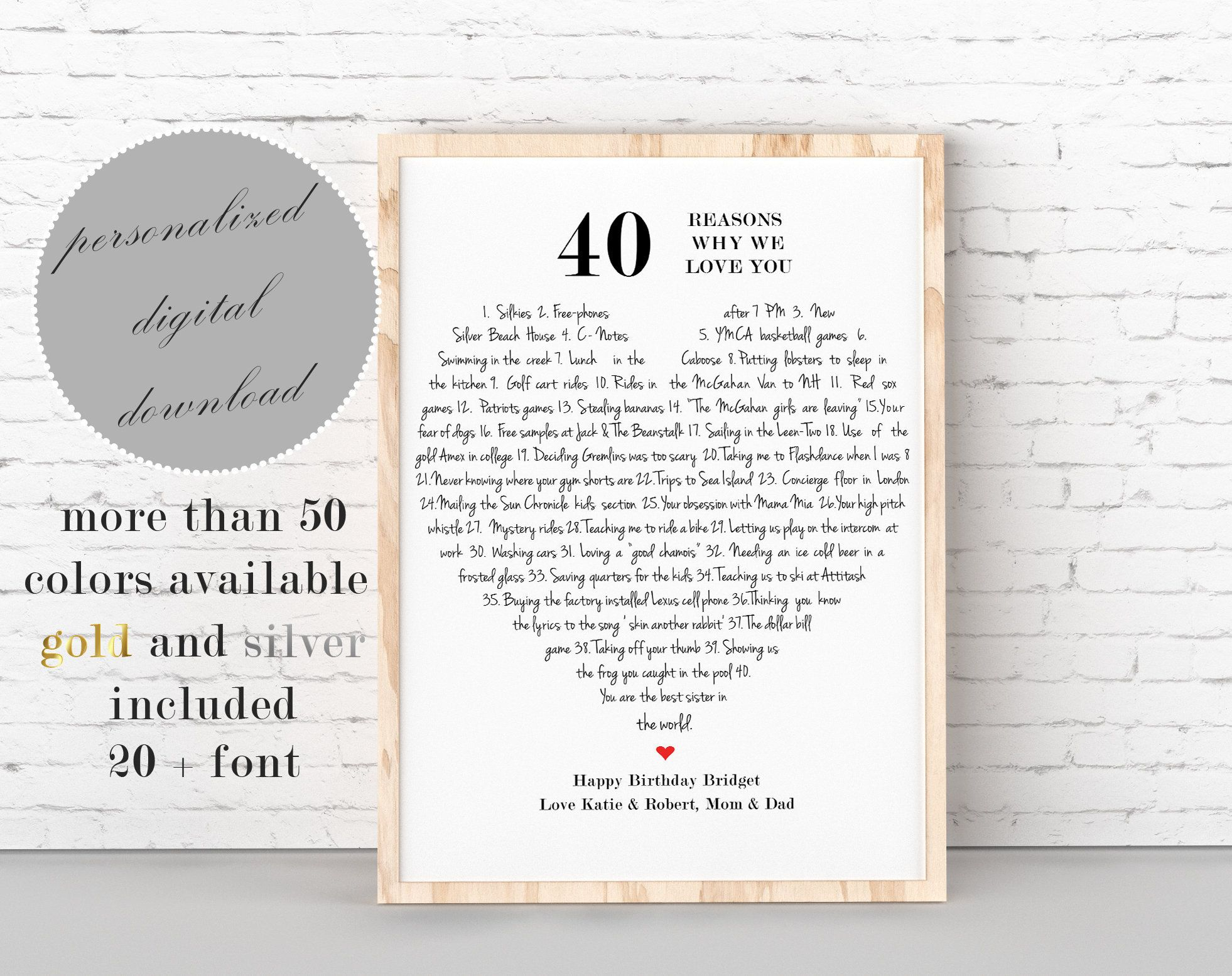 Pin By Rachel Parker On Art Happy Birthday Aunt Reasons I Love You Birthday Gifts For Grandma