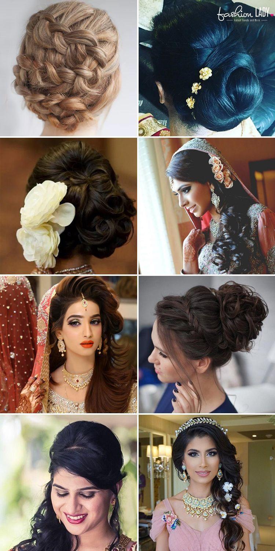 Traditional Medium Hair Indian Wedding Hairstyles For Short Hair ...