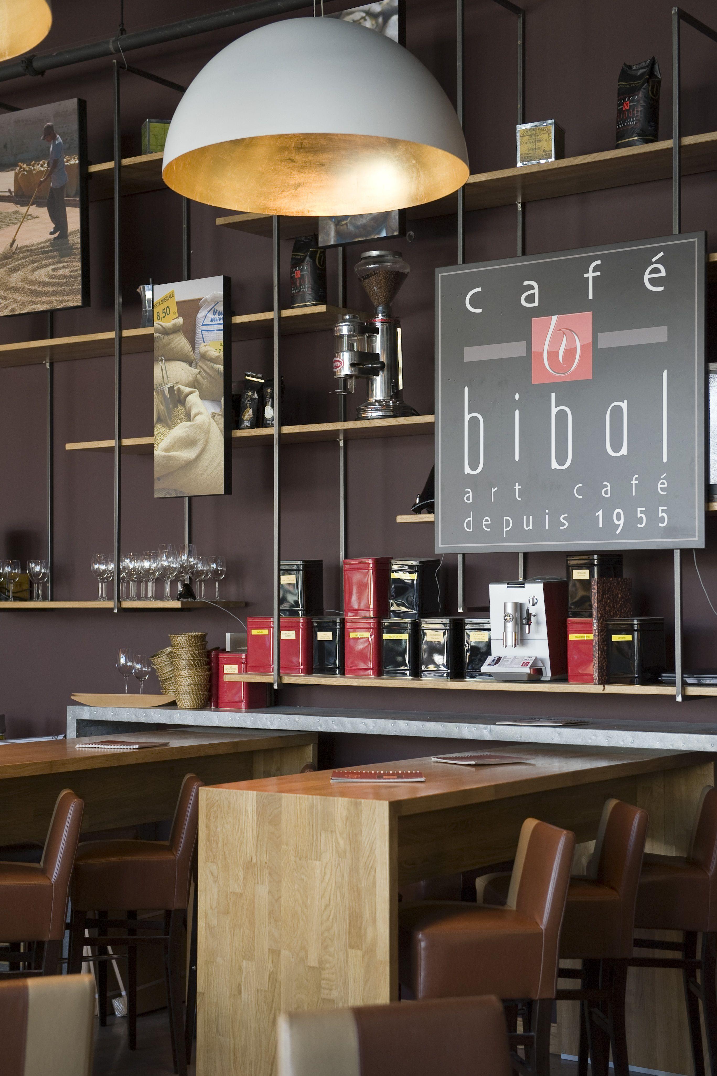 Bibal Café Odysseum ©Fabien MALOT Coffee shop interior design