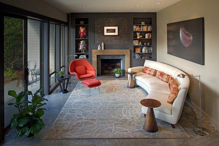 Canapé demi lune et canapé rond 55 designs spectaculaires