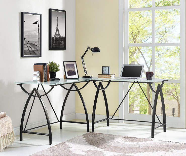 Black Glass Top L Shape Corner Desk At Big Lots Altra Furniture L Shaped Corner Desk Furniture