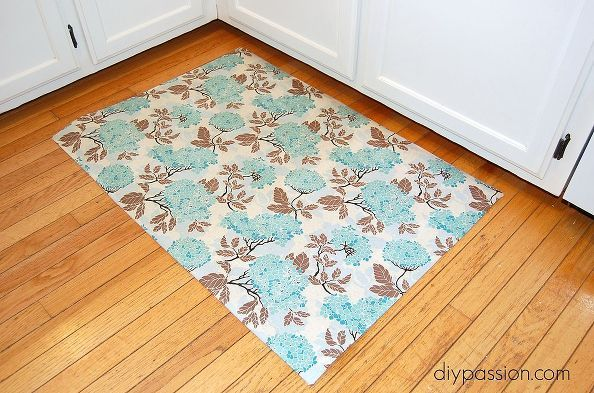 How To Make Kitchen Floor Mat Custom, Crafts, Flooring