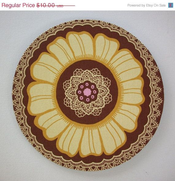 BLACK FRIDAY sale  Mouse Pad mousepad / Mat  Round  Lace by Laa766, $9.00