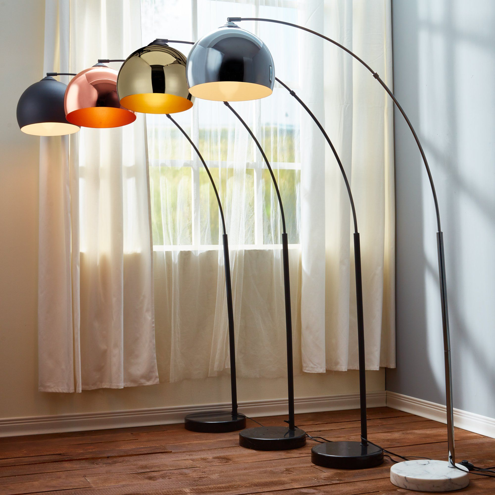 Arquer 66 93 Quot Arched Floor Lamp Bean Palace Aesthetic