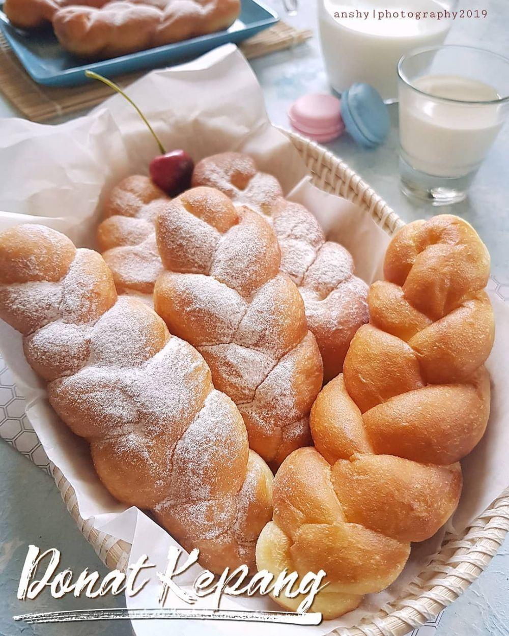membuat donat kentang empuk istimewa   makanan manis donat makanan Resepi Kentang Jacket Enak dan Mudah