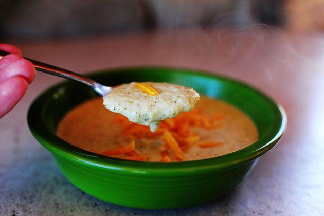 Broccoli-Cheese Soup!