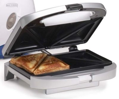 Make Two Yummy Sandwiches With This Cuisinart Grilled