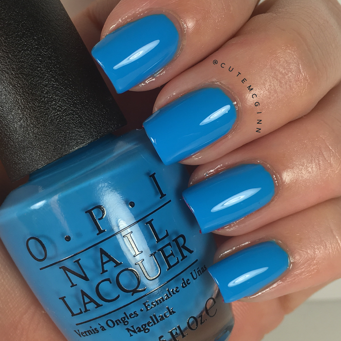 Fearlessly Alice Swatch from the Alice Through The Looking Glass Collection by OPI