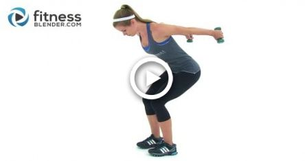 Toned, Lean Arms Workout -- Rhomboids, Shoulders, Bicep, Tricep, and Chest Workout #fitness
