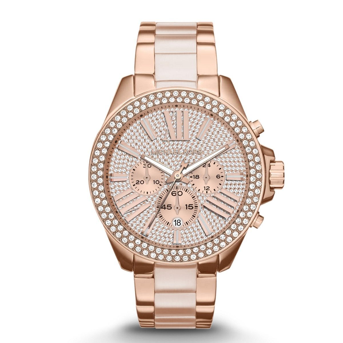 New Michael Kors MK6096 Wren Mineral Crystal Women s Watch https   t.co 02ad266af5