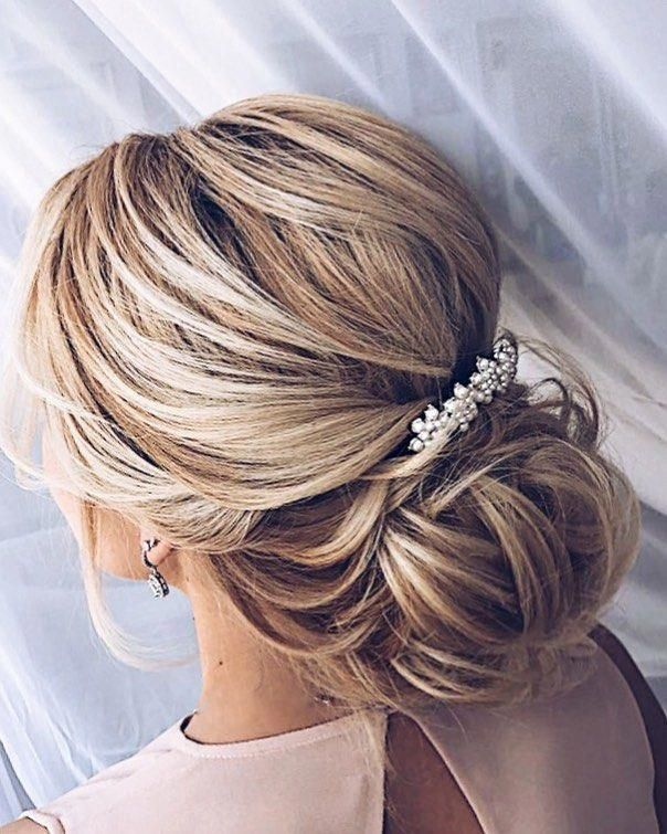 20 Inspiration Low Bun Hairstyles For Wedding 2019 2020: 30 Quick And Easy Updos You Should Try In 2019 In 2020