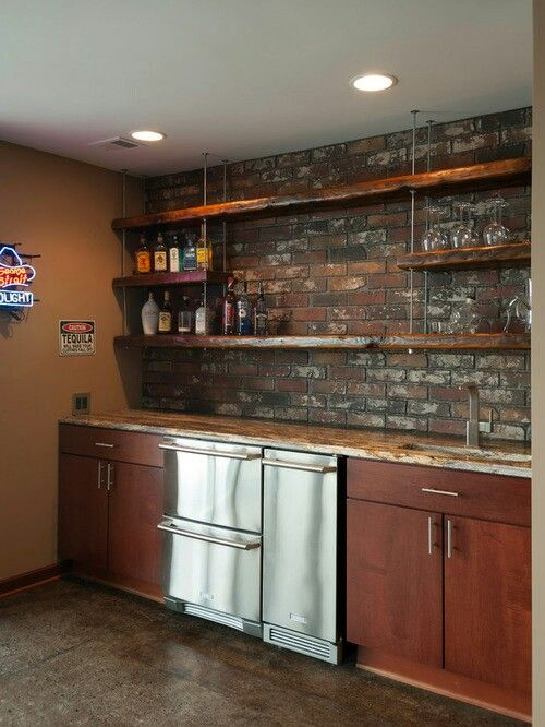 Pin By Lori Fischer Henderson On Man Cave Basement Remodeling Man Cave Home Bar Wet Bar Basement