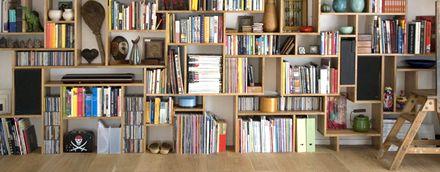 une biblioth que murale en palettes biblioth que pinterest biblioth que murale palette et. Black Bedroom Furniture Sets. Home Design Ideas