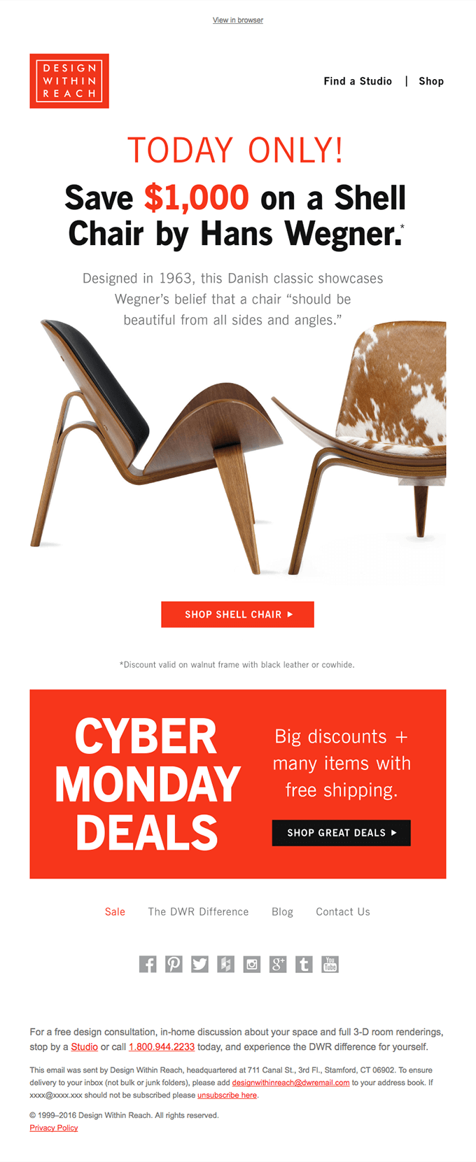 Awesome Itu0027s Cyber Monday: Mystery Deal Revealed!   Really Good Emails