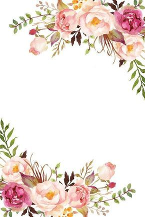 Vectores De Flores Tarjetas De Invitacion Virtuales