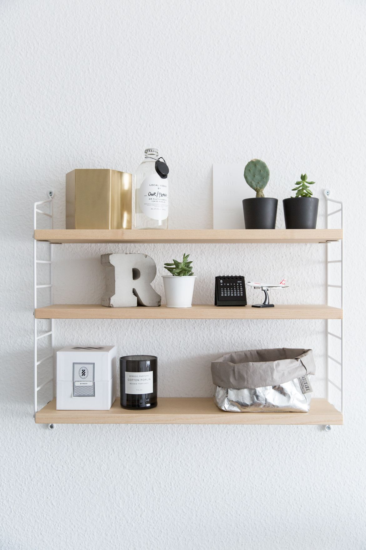 string shelves are the best design invention ever. | HOME ...