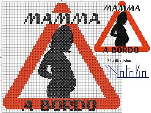 "Minnie in dolce attesa ""Mamma a bordo"". Обсуждение на LiveInternet - Российский Сервис Онлайн-Дневников"