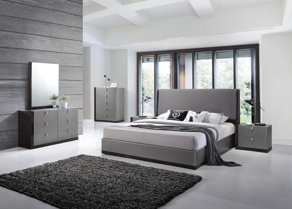 Sorrento Bedroom Set By J M Modern Bedroom Furniture Modern Bedroom Decor Contemporary Bedroom Design