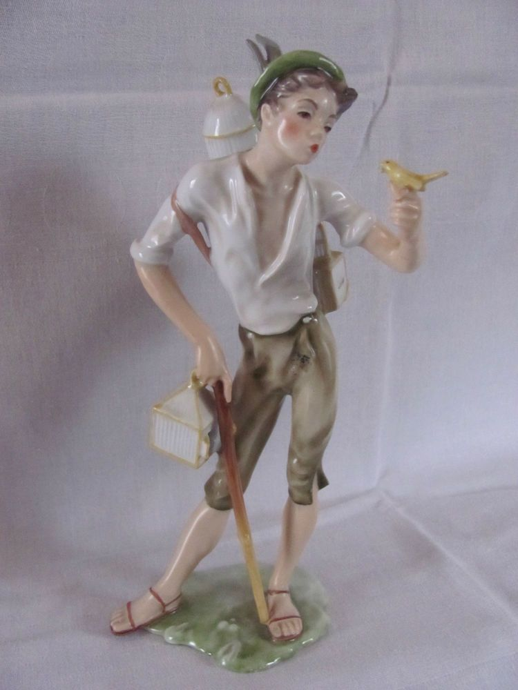 Figur Vogelhändler Kaiser Porzellan | Porzellan Figuren