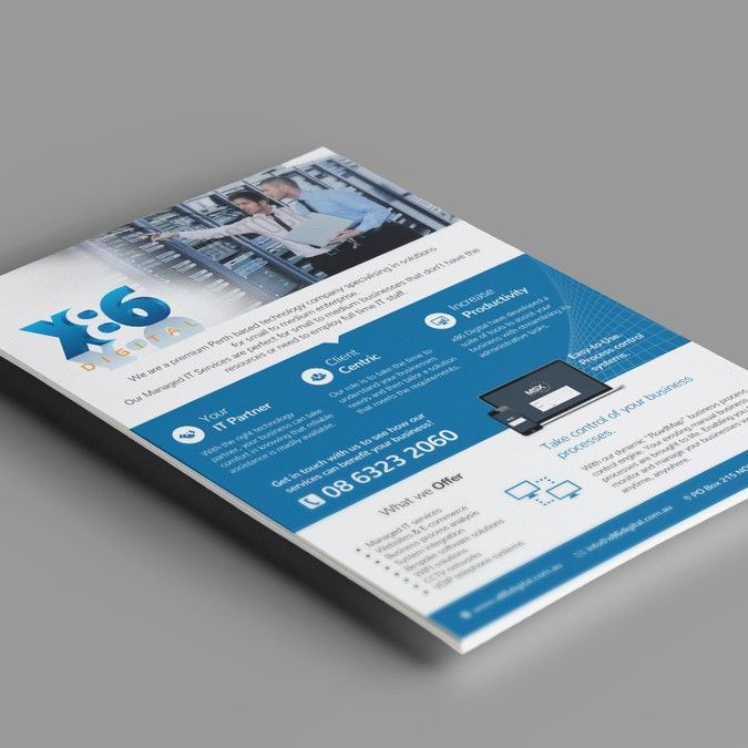 IT Solutions Specialists Need A CatchyCorporate Flyer by clarferrer