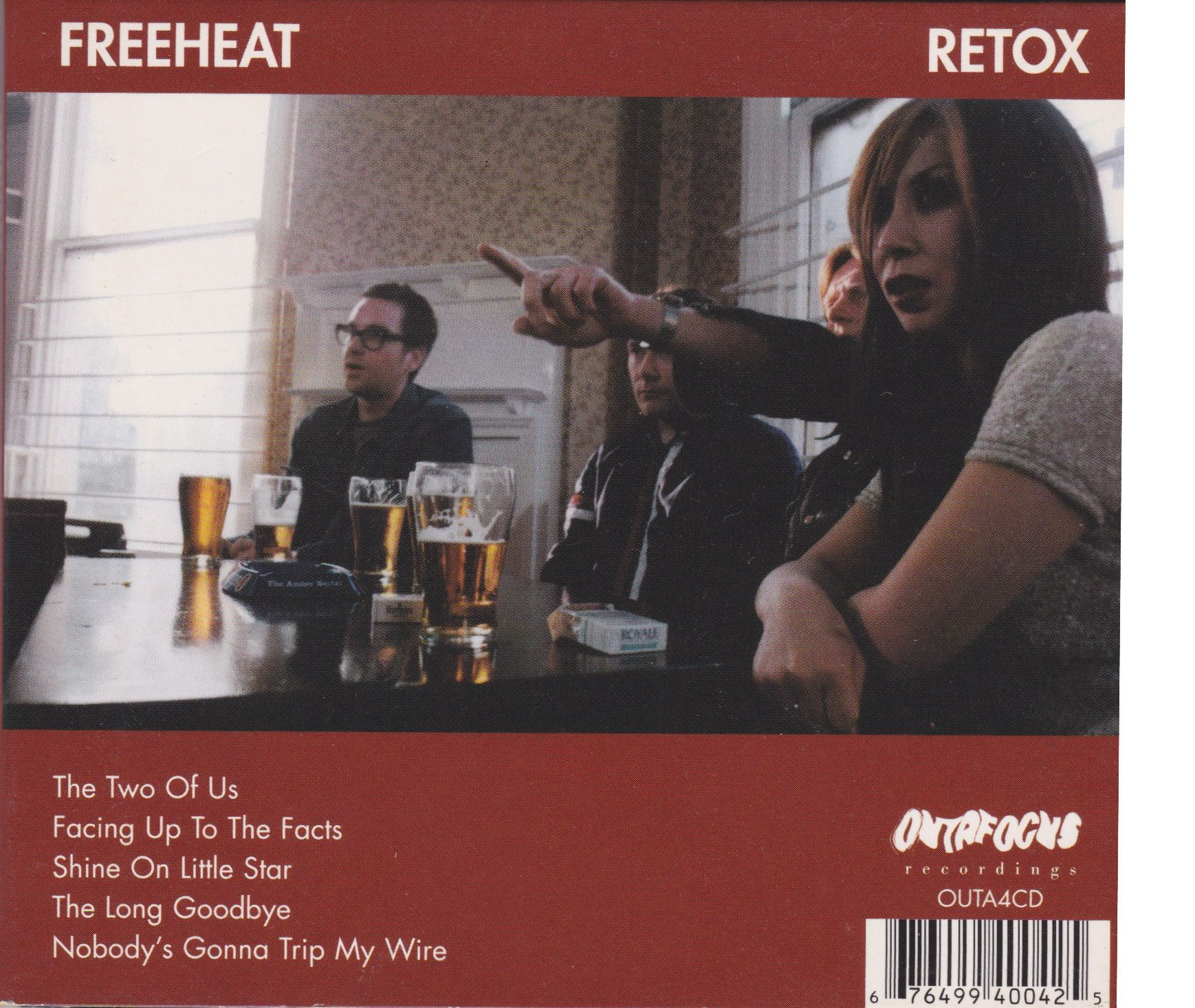 FREEHEAT: Retox EP - The Two Of Us / Facing Up To The Facts / Shine ...