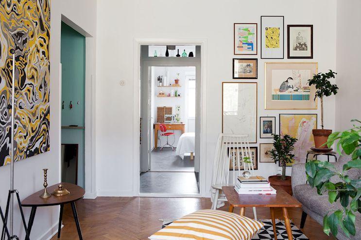 Departamento De 2 Ambientes En Estilo Nordico Y Vintage Estilos Deco Decoracion De Interiores Minimalista Muebles Estilo Nordico Decoracion De Comedor