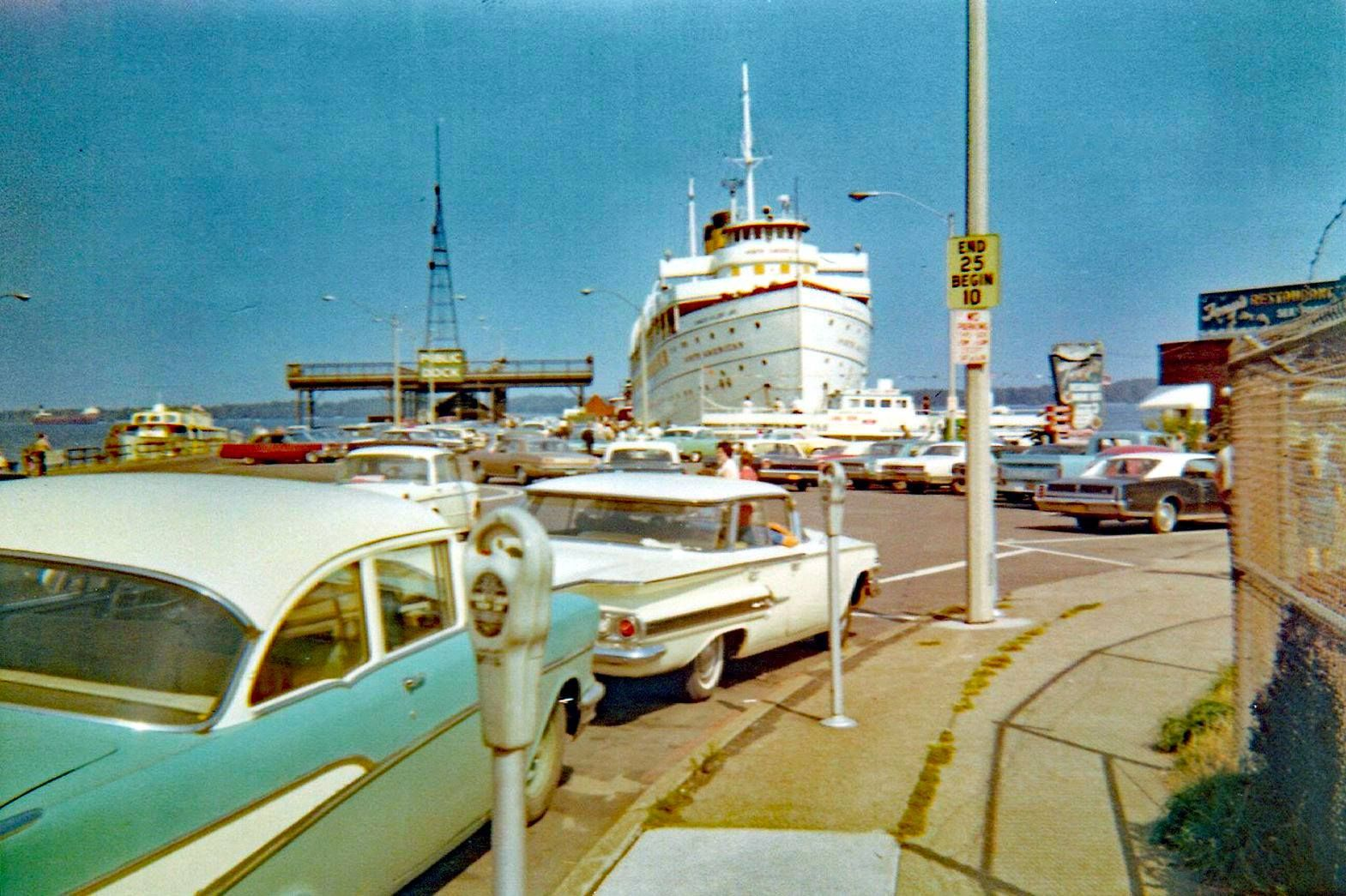 Old Time Erie: Public Dock Winter of 1967-68 Erie, PA