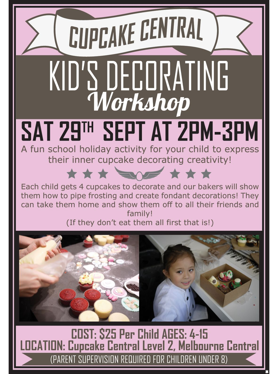 Cupcake Central Kid's Decorating