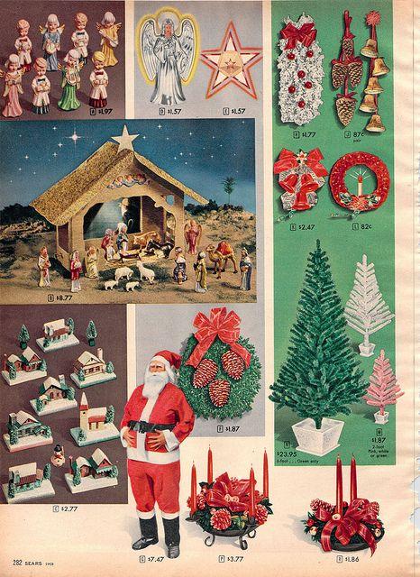 Weihnachtsbilder Pinterest.1957 Sears Christmas Catalog Vintage Yulemas Adverts