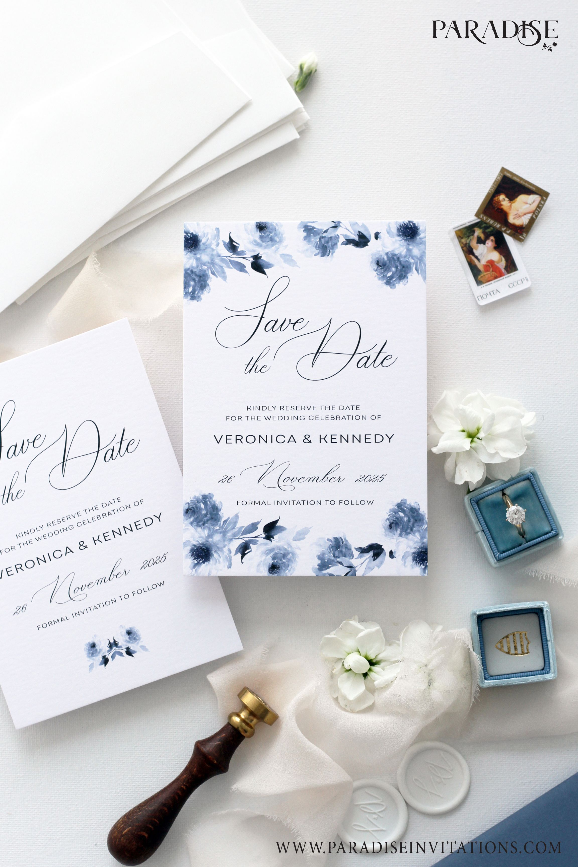 Watercolor Floral Wedding Save The Date Cards Wedding Stationery Save The Dat Wedding Saving Floral Wedding Save The Dates Free Wedding Invitation Samples