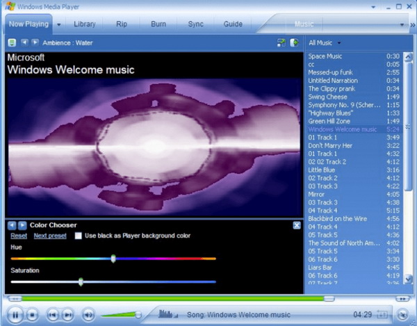 Ripping music from cd to mp3 player using windows media player dec.