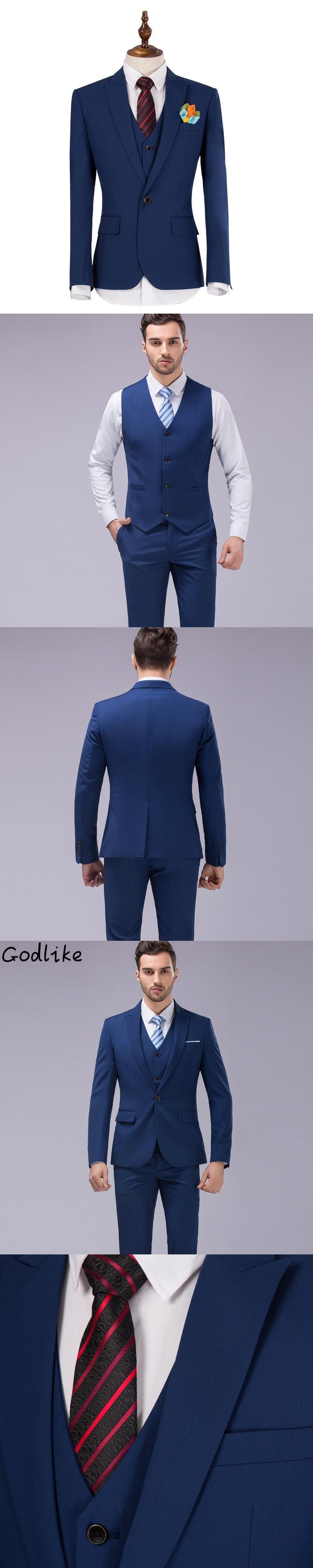 Godlikesuit vest pants menus best man groom wedding dress