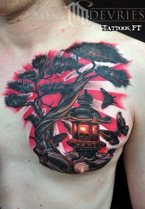 modele tatouage arbre tattoo pinterest modele tatouage tatouages et samourai. Black Bedroom Furniture Sets. Home Design Ideas